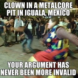 metalcore clown