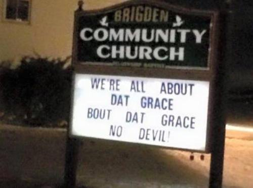 all about that grace no devil