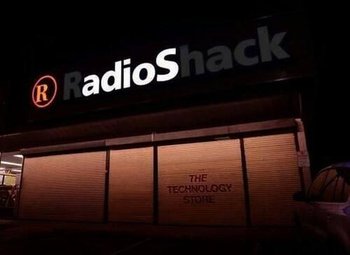 radio shack adios