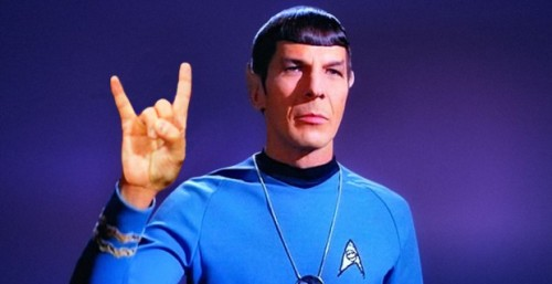 spock metal horns