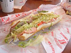 Jimmy John's Is Offensive...to one guy...enjoy your sammich...