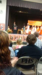 Alisha's graduation
