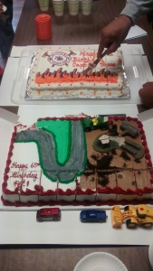 Uncle Pat's Birthday Cakes