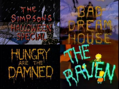 simpsons halloween special