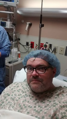 cyst removal prep