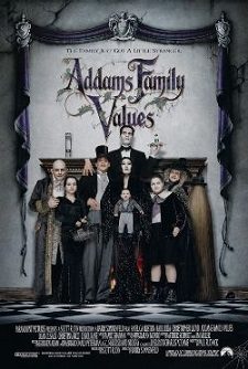 Movie Review ADDAMS FAMILY VALUES