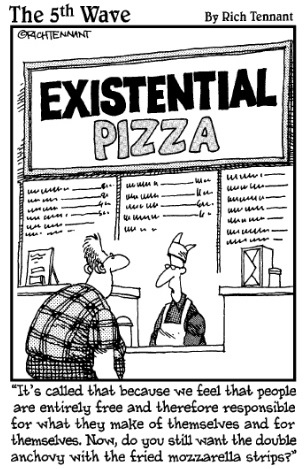existential pizza