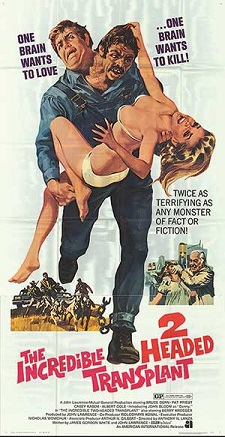 The Incredible 2-Headed Transplant Movie Poster
