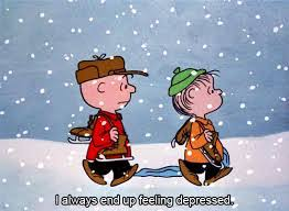 charlie brown christmas depressed