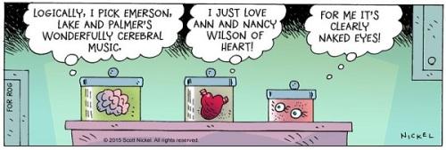 eek brain heart eyes